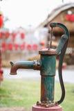 Old vintage water pump Stock Photo