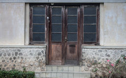 An old vintage weathered house style in jogja indonesia. Java Stock Photography