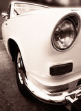 Old vintage wedding car Royalty Free Stock Images