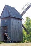 Old vintage windmill stock image