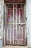 Old vintage window from Thai temple Stock Photos