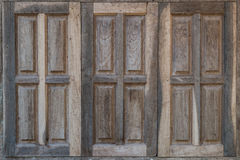 Old vintage windows. Royalty Free Stock Images