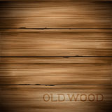 Old Vintage Wood Background. Old hard worn wood vector background Royalty Free Stock Photography