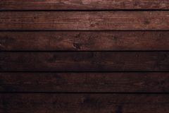 Old vintage wood background. Horizontal view royalty free stock photography