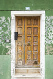 Old vintage wood door Royalty Free Stock Photography
