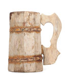 Old Vintage Wooden Mug Royalty Free Stock Photo