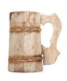 Old Vintage Wooden Mug Royalty Free Stock Photo