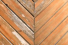 Old vintage wooden wall of planks, background royalty free stock photo