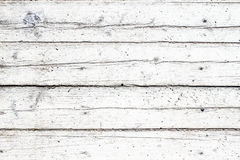 Old vintage wooden white  background, table or floor Royalty Free Stock Images