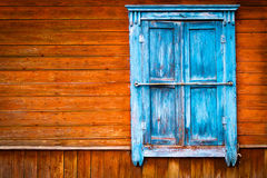 Old vintage wooden window Royalty Free Stock Photos