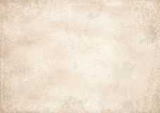 Old vintage yellowed paper background Stock Photos