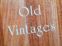 Old vintages Royalty Free Stock Photos