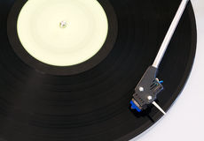 Old vinyl player Royalty Free Stock Image