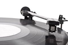 Old vinyl player Royalty Free Stock Photo