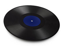 Old vinyl record Royalty Free Stock Images