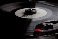 Old Vinyl record player Stock Image