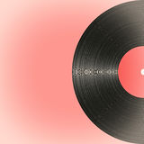 Old vinyl record in retro style Royalty Free Stock Photo