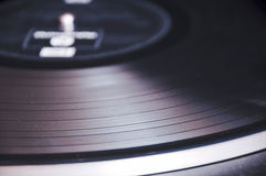 Old Vinyl record Royalty Free Stock Photography