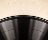 The old vinyl record Stock Photography