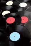 Old vinyl records Stock Photos