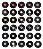 Old vinyl records collection Stock Photos