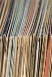 Old vinyl records Stock Image