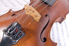 Old viola Royalty Free Stock Photo