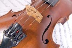 Old viola Royalty Free Stock Photo