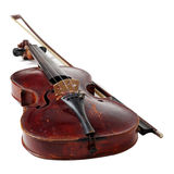 Old violin Stock Photo