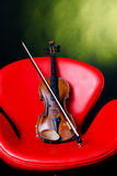 Old violin Royalty Free Stock Photos