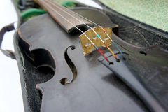 Old violin Royalty Free Stock Photo