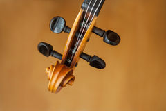 Old violin music concept Royalty Free Stock Image