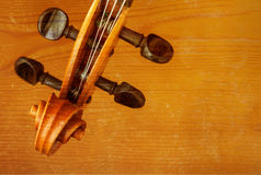 Old violin music concept Royalty Free Stock Photo