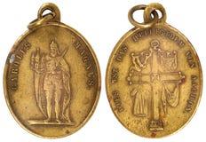 Old vitage medallion Stock Photos
