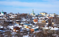 Old  Vladimir in winter, Russia Royalty Free Stock Photo