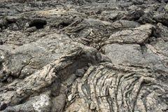 Old volcanic stone in Timanfaya national park in detail Stock Image