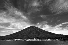 Old volcano Royalty Free Stock Photography