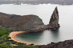 Old Volcano, Galapagos Royalty Free Stock Photography