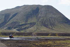 Old volcano in Iceland Royalty Free Stock Photography