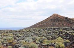 Old volcano on Tenerife Stock Photography