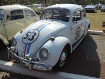 Old Volkswagen Beetle 1968 Stock Photography