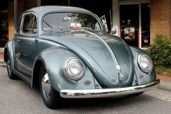 The old Volkswagen car. At the street Royalty Free Stock Photography