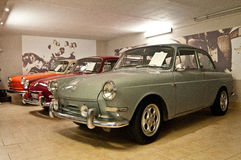 Old Volkswagen in a car museum Royalty Free Stock Photography