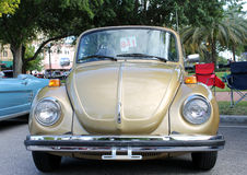 Old Volkswagen car. The old Volkswagen car at the show Royalty Free Stock Image