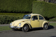 Old Volkswagen coupe Royalty Free Stock Photography