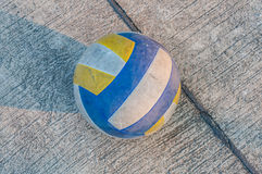 Old volleyball Stock Photos