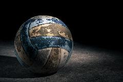 Old Volleyball Royalty Free Stock Photo