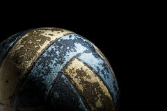 Old Volleyball Royalty Free Stock Photography