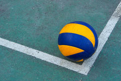 Old volleyball Royalty Free Stock Image