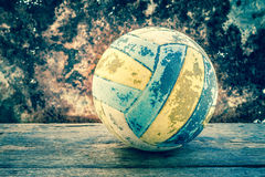 Old Volleyball Stock Photography